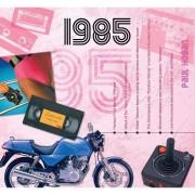 Geen Hits uit 1985 verjaardagskaart