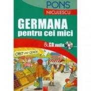 Germana pentru cei mici and CD audio