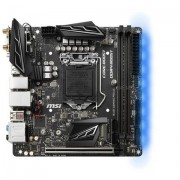 MSI B360I GAMING PRO AC LGA 1151 (Socket H4) Intel® B360 Mini ITX