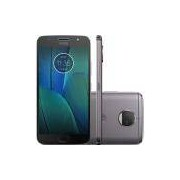 Smartphone Motorola Moto G5S Plus, Octa-Core, 32GB, TV, Dual Chip, Platinum - XT1802
