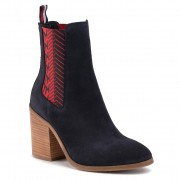 Боти TOMMY HILFIGER - Th Monogram High Boot FW0FW04582 Desert Sky DW5