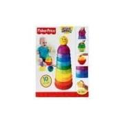 Brinquedo Torre De Pontinhos Empilhar E Rolar Fisher-Price Brilliant Basics -W4472