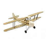 Dancing Wings Hobby S09 Rc Balsa Wood Ep & Gp 1.4m De Havilland Dh82a Tiger Moth Biplane by Dw Hobby Balsa Laser-Cutting