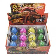 Hatching Dino Dinosaur Dragon Hatch-Grow Eggs Large Size Pack of 12PCS