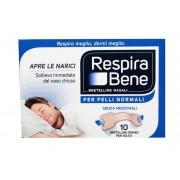 Glaxosmithkline RespiraBene Bretelline nasali grandi per adulti pelle normale (10 pz)