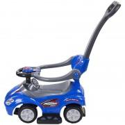 Masinuta Mega Car Delux Sun Baby, suporta maxim 25 kg, 12 luni+, albastru