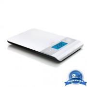 LAICA digitális konyhai mérleg - fehér, elegáns kivitel