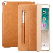 JisonCase iPad 9.7 2017/2018 Smart Folio Hoesje - Bruin