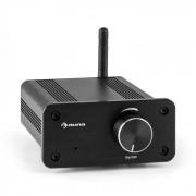 Auna BT-Bro Miniamplificador estéreo Clase D Bluetooth Aluminio Banana Plata (AV5-BT-Bro black)