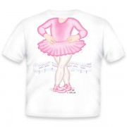 Just Add A Kid Majica Ballerina Pink 360