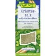 Sare Bio Iodata de Condimentat cu 15% Ierburi Legume Alge Rapunzel 500gr