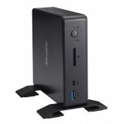 XPC nano NC3000XA 1.8GHz 3865U 0,8L mini PC Noir Mini PC PC/poste de travail