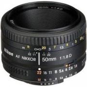 Обектив Nikon AF Nikkor 50mm f/1.8D Lens for DSLR Cameras - Разопакован продукт с нарушена опаковка