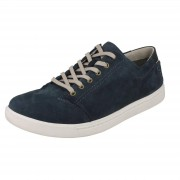 Clarks Mens Clarks Casual Lace Up Shoes Newood Street Denim Blue UK 8.5