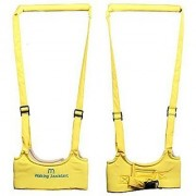 Happy-hongtai Babywalker Baby Toddler Walking Assistant Protective Belt Carry Trooper Walking Harness Learning Assistant Learning Walk Safety Reins Harness Walker Wings(yellow)