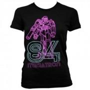 Tee Megatron Neon 84 Girly Tee , Girly T-Shirt