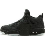 the nike air jordan 4 retro kaws Basketball Shoes For Men(Black)