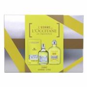 Eau de cedrat L'Occitane En Provence EDT Pour Homme 75ml + 250 ml shower gel gift set