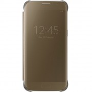 Galaxy S7 Clear View Cover goud EF-ZG930CFEGWW