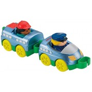 Fisher-Price Little People Wheelies Train Toy, 2-Pack