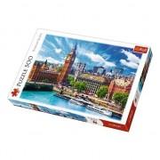 Puzzle 500 piese - O zi cu soare la Londra