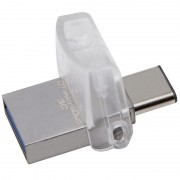 Kingston DataTraveler microDuo 3C Flash Drive - 32GB