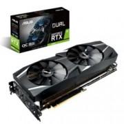 Видео карта Nvidia GeForce RTX 2080, 8GB, Asus Dual RTX OC, PCI-E 3.0, GDDR6, 256 bit, 3x Display Port, 1x HDMI, 1x USB Type C