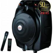 Boxa Portabila activa Akai SS022A-X6, Bluetooth, USB, slot card (Negru)