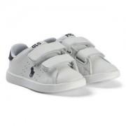 Ralph Lauren Leather Quilton EZ Sneakers Vit Barnskor 28 (UK 11)