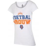 KNVB - Nederlands Elftal T-shirt Dames - Voetbal Vrouwen - Blanco - Wit-XL