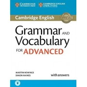 Grammar and Vocabulary for Advanced Book with Answers and Audio: Self-Study Grammar Reference and Practice, Hardcover/Martin Hewings