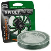SPIDERWIRE STEALTH MOOTH 8 MOSS GREEN 0, 14MM 1800M