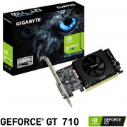 Tarjeta de Video GIGABYTE GeForce GT 710 2GB GDDR5 GV-N710D5-2GL