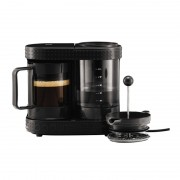 Cafetiera French Press Bistro Bodum, 1 l, 410 W, Negru