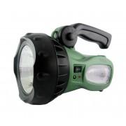 LED Lanternă reînărcabilă LED/1W verde