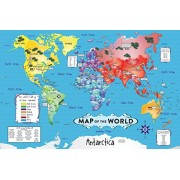 White Mountain Puzzles World Map Jigsaw Puzzle (36-Piece)