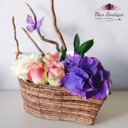 Cos floral Barcuta CF041