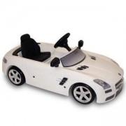 Детски автомобил с педали MERCEDES SLS AMG, Toys Toys, бял, 313005