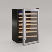 Racitor de vin Cavist 48 sticle silentios sistem anti-vibratie picioare reglabile control digital