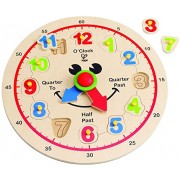 Hape-Wooden Happy Hour Clock