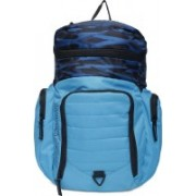 USI UNIVERSAL Sky Blue And Black Backpacks 23 L Backpack(Blue)
