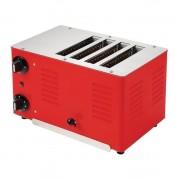 Stalgast Grille-pain Rowlett Regent 4 Fentes Rouge 255(H) x 360(L) x 210(P)mm