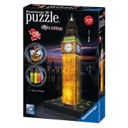 Ravensburger 3D Puzzles Big Ben Night Edition, Multi Color (216 Pieces)