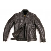 Helstons Box Fender Leather Jacket Brown S