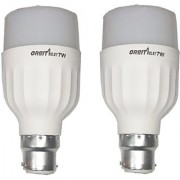 ReBuy LED Bulb Pack of 2 Orbit 7 Watt Natural White Bullet Series LED Bulb B22 Cap