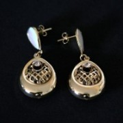 Earring Gold Plated Jewelry Semi Sis