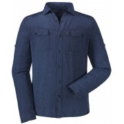 Schöffel Paso Tonale UV longsleeve blauw S 2017 Overhemden lange mouw