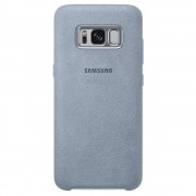 Husa Protectie Spate Samsung EF-XG950AMEGWW Alcantara Verde pentru SAMSUNG Galaxy S8