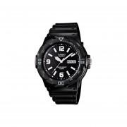 Reloj Analógico Hombre Casio MRW-200H-1B2 - Negro con Blanco