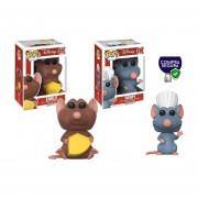 Remy y Emile Funko pop Ratatouille Disney